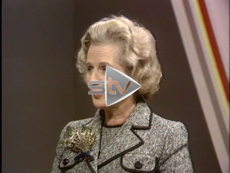 Thatcher Interview 1975