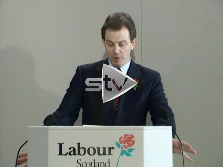 Blair Minimum Wage Speech