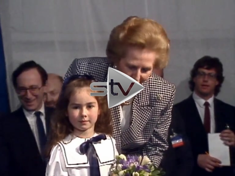 Margaret Thatcher Photo Op