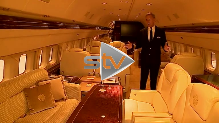 Inside the Trump Jet