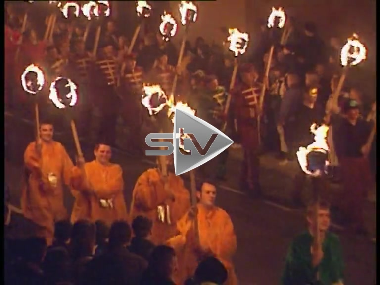 Up Helly Aa Procession '98