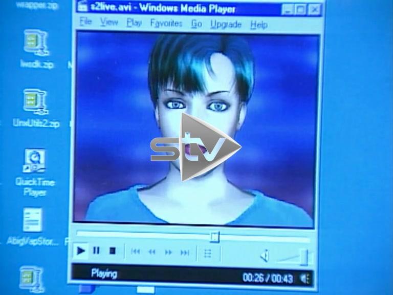 Virtual Newscaster