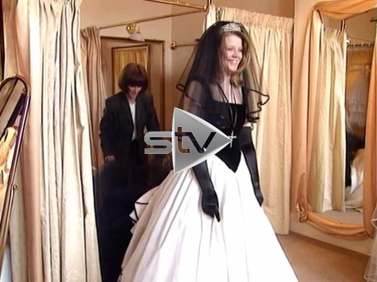 Wild Wedding Dress