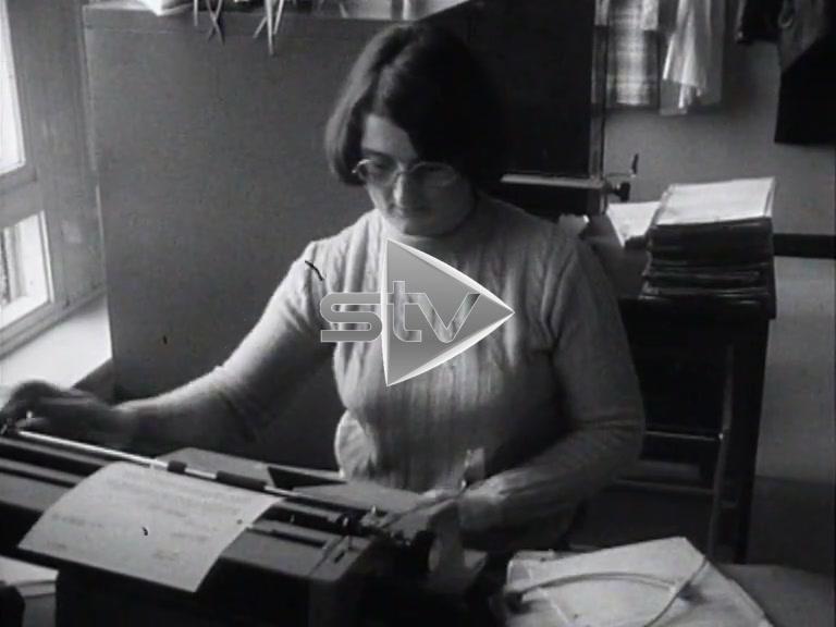 Seventies Typing Pool