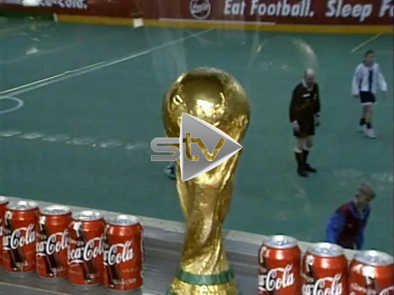 The World Cup Visits Govan