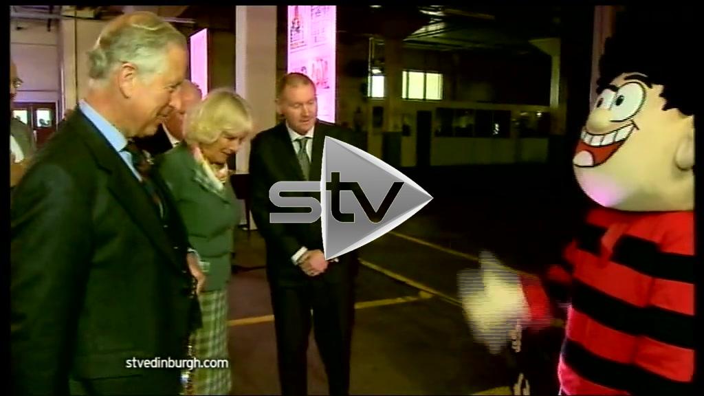 Prince Charles Meets Dennis