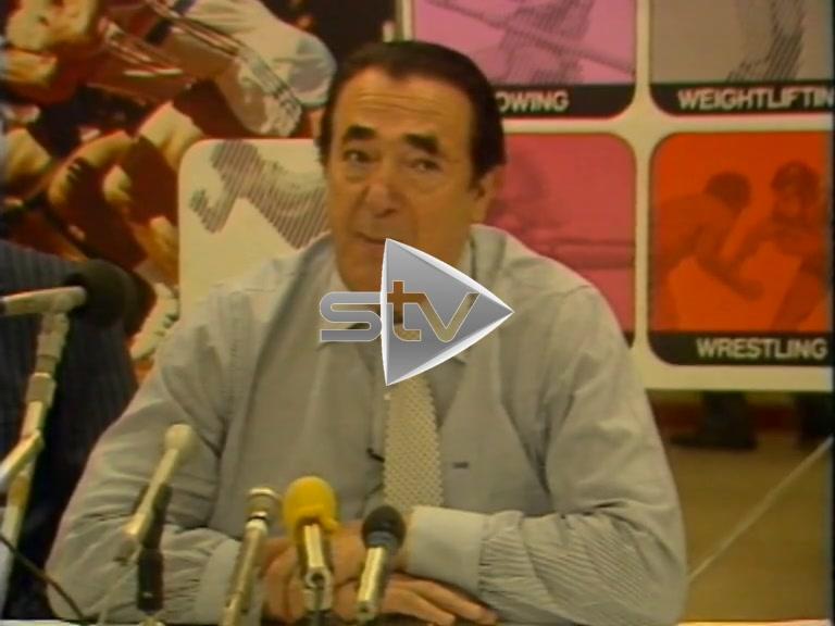 Robert Maxwell 1986 Commonwealth Games