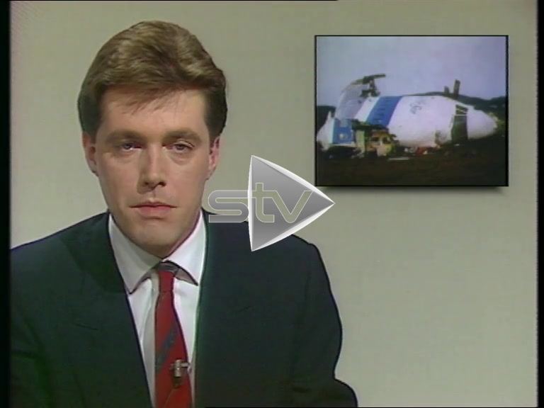 Lockerbie Air Disaster: Scotland Today Report