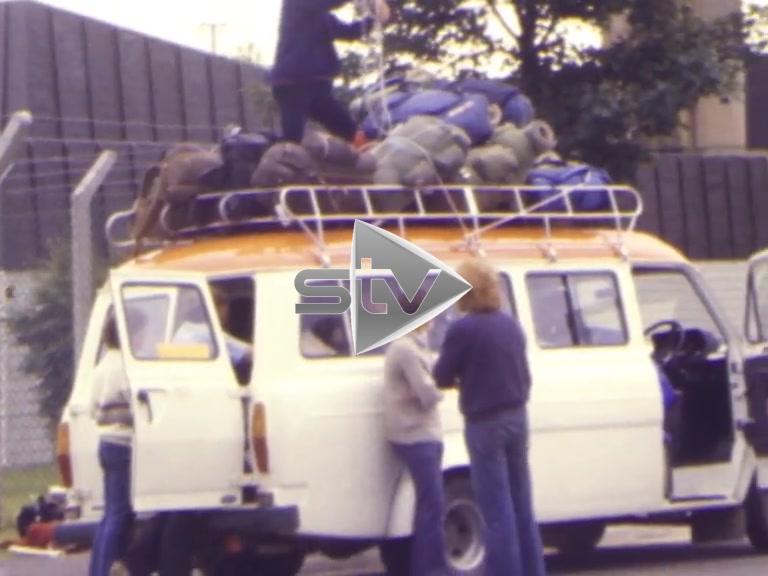 Loading the Campervan