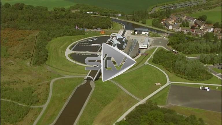 HD Aerials of Falkirk Wheel