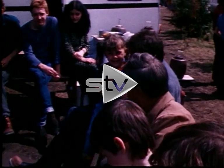 Faslane Peace Camp Early 80s