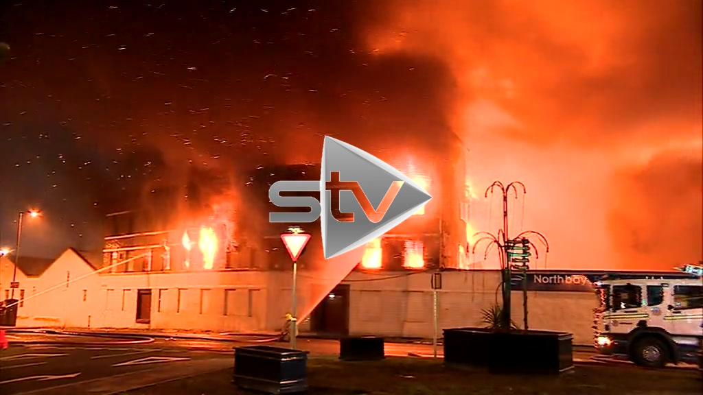 Fish Factory Fire
