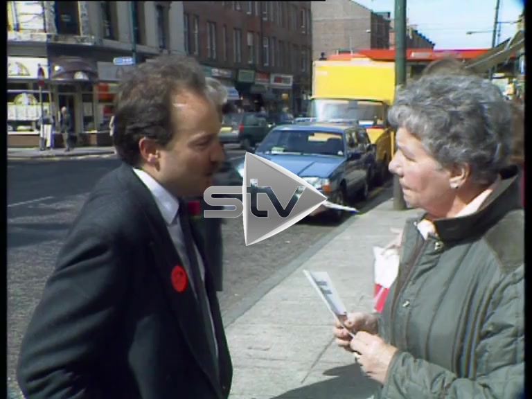 George Galloway On the Campaign Trail in 1987