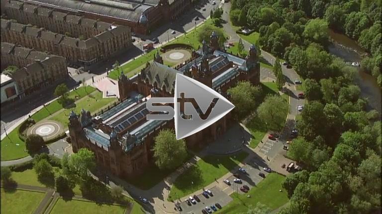 HD Aerials of Kelvingrove Art Gallery and Museum