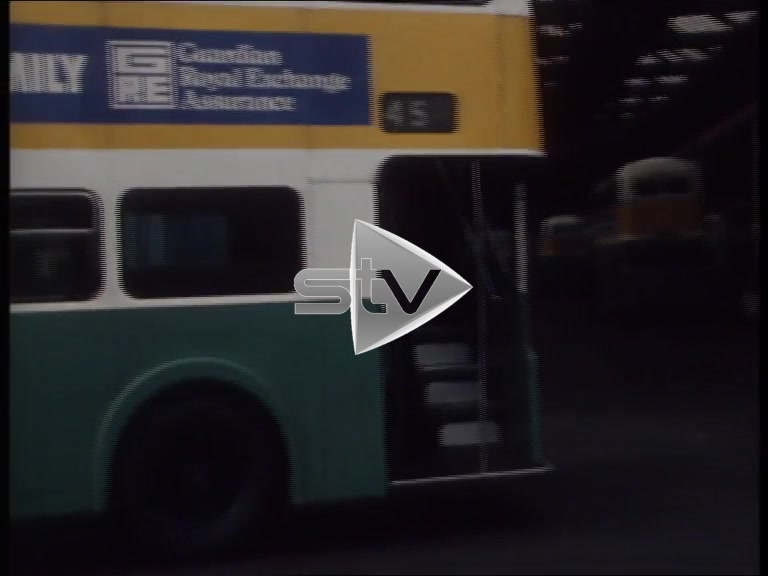 Glasgow's Last Open Bus