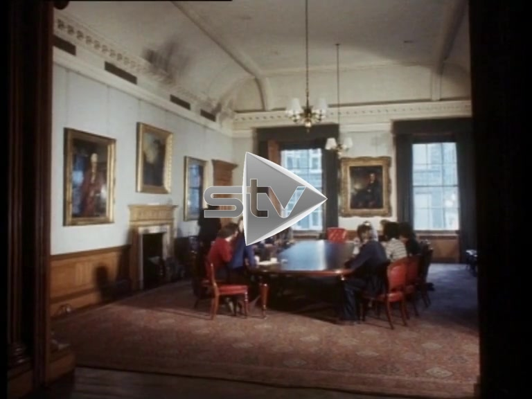 Gordon Brown – Student Rector (1975)