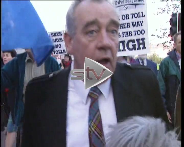 Skye Bridge Tolls – Edinburgh Protest
