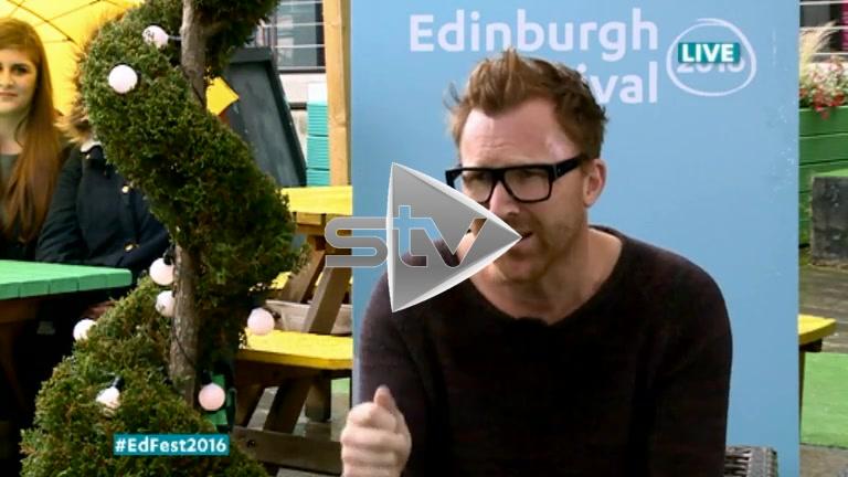 Jason Byrne at Edinburgh Fest 2016