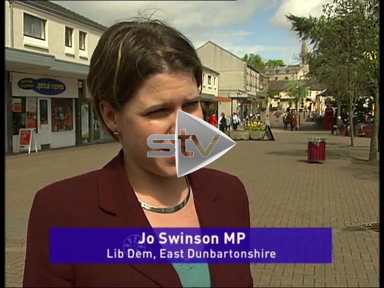 Jo Swinson Elected