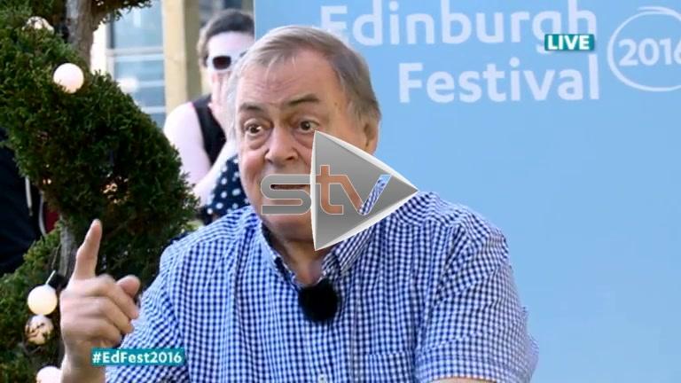 John Prescott at Edinburgh Fest 2016
