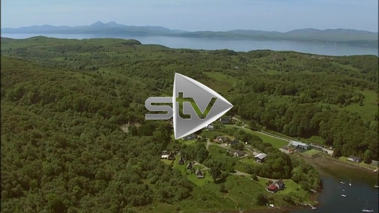 HD Aerials towards the Sound of Jura