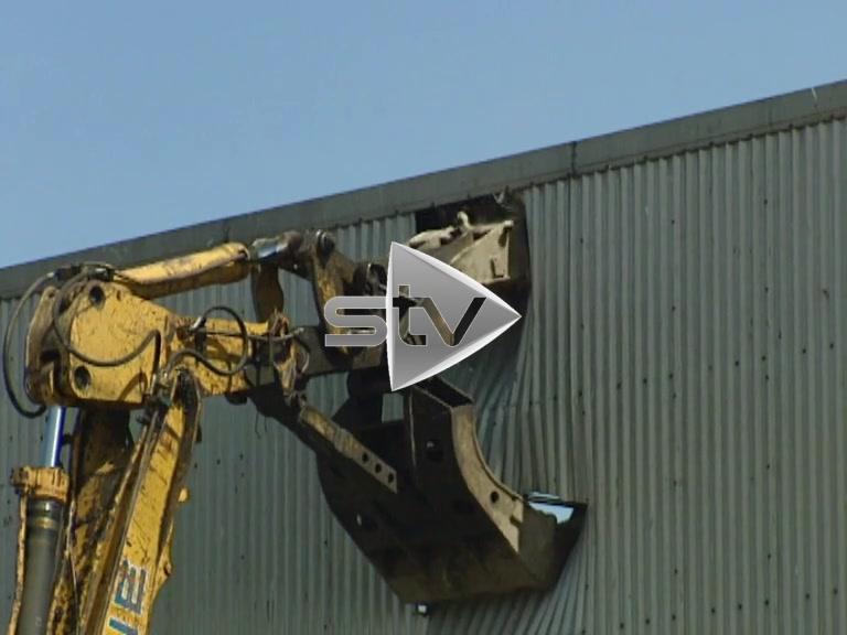 Linwood Car Plant Demolition