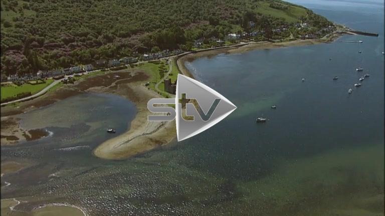 HD Aerials of Lochranza Castle