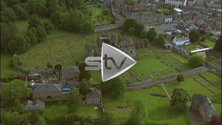 HD Aerials of Melrose Abbey
