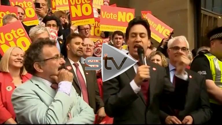 Ed Miliband Glasgow Speech