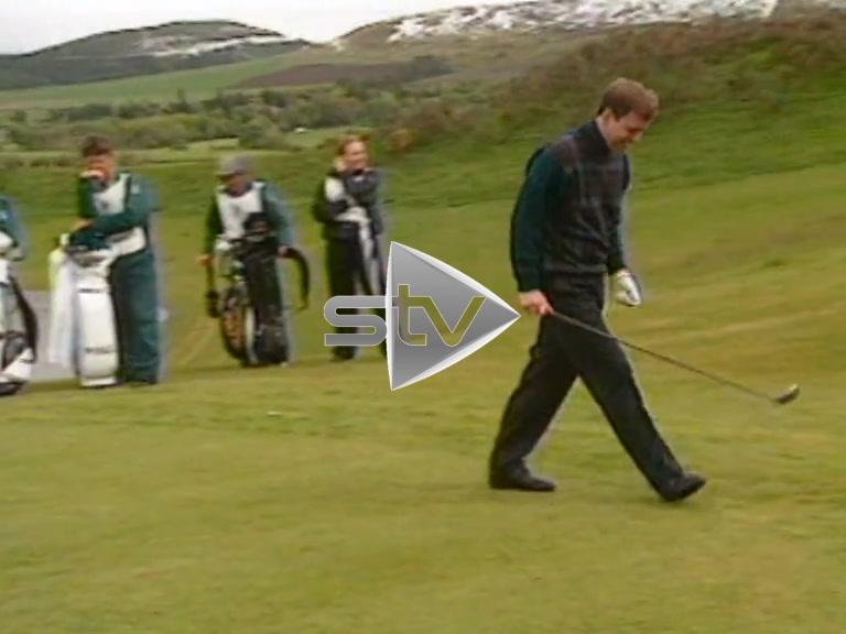 Sean & Jackie Playing Golf