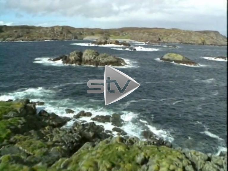 Aerials of the Isle of Iona Coast