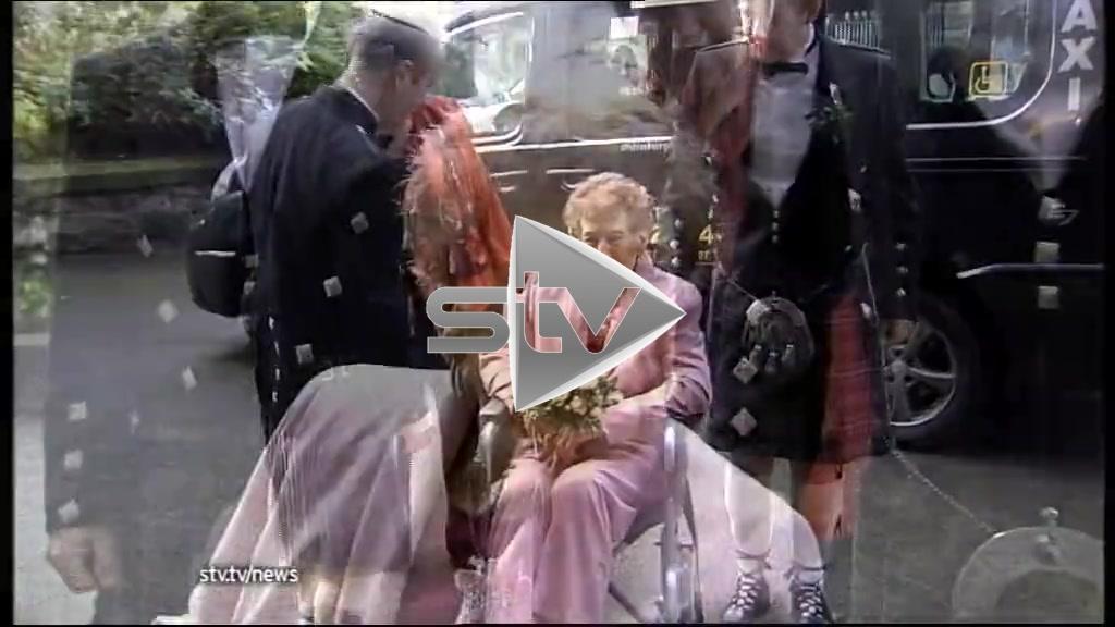Scotland's Oldest Newlyweds