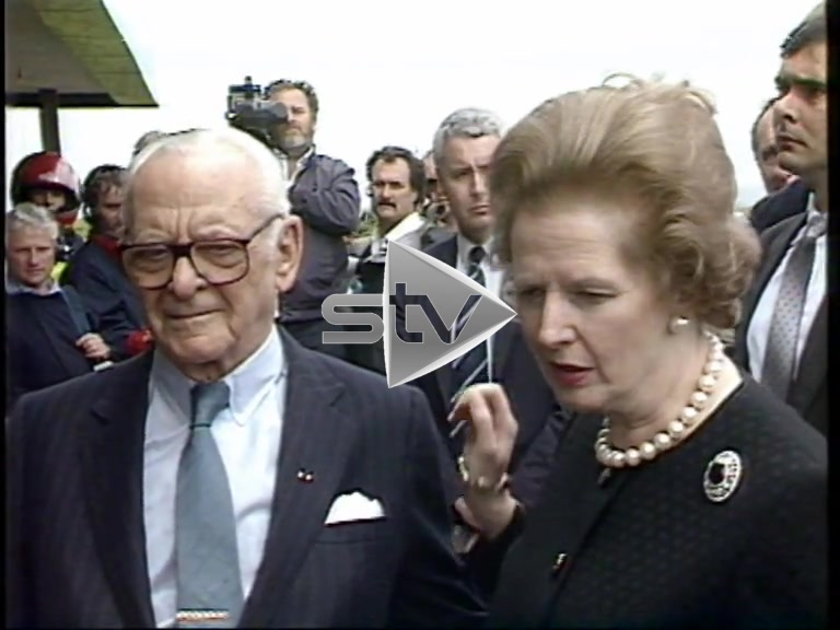 Piper Alpha Disaster – Mrs. Thatcher Speaks to the Press