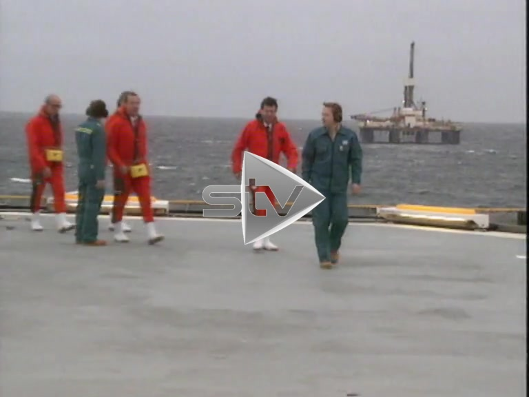 North Sea Oil – New Platforms 1989