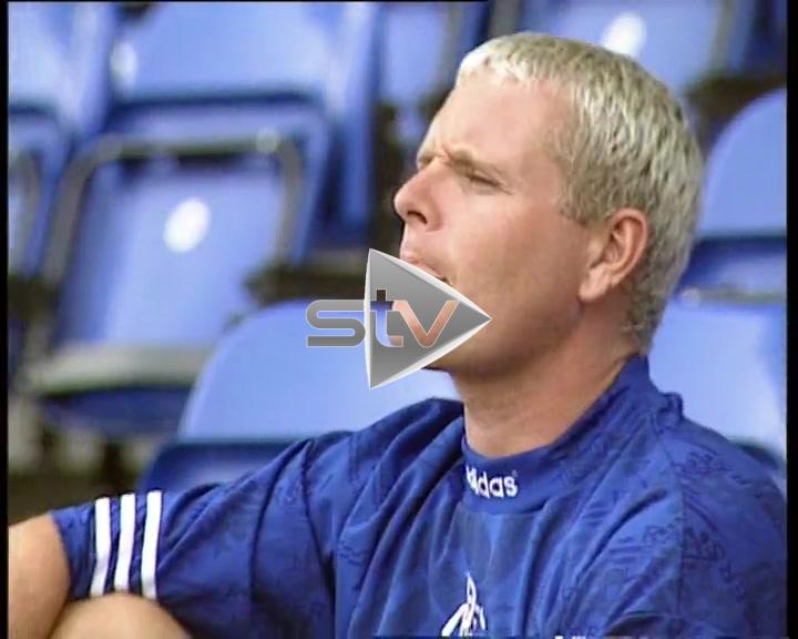 Paul Gascoigne Signs for Rangers