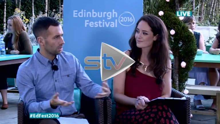 Paul McMullan at Edinburgh Fest 2016