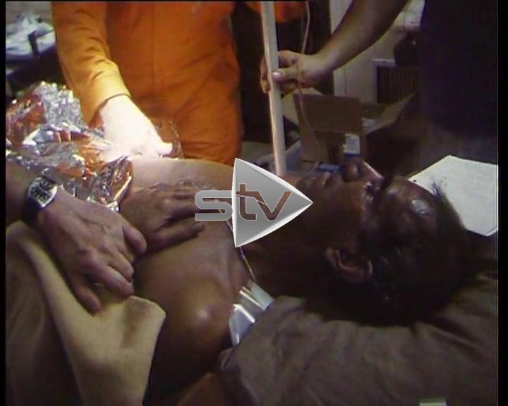 Piper Alpha Disaster – Offshore Hospital Treating Survivors on Tharos
