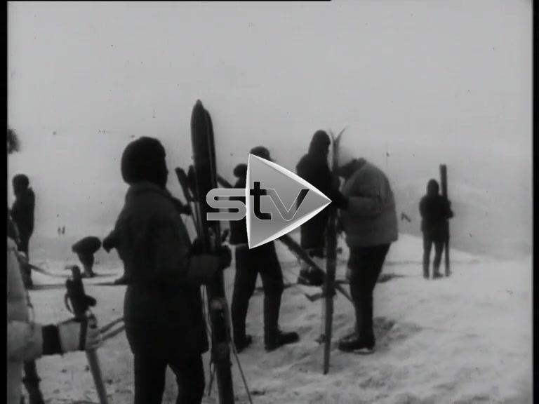 Skiing in Aviemore 1965