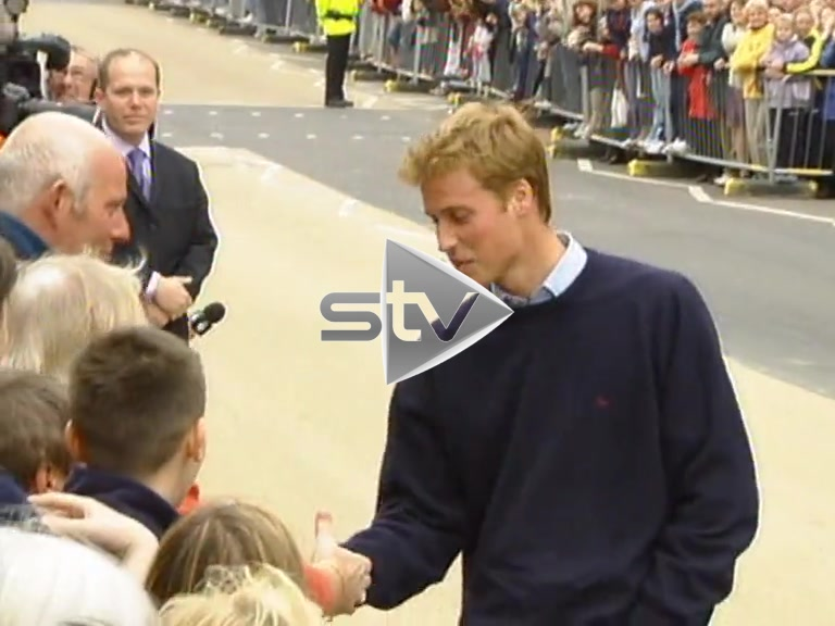 Prince William at St Andrews