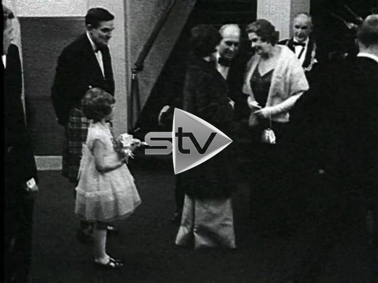 Princess Margaret Visits Metropole Theatre (1966)