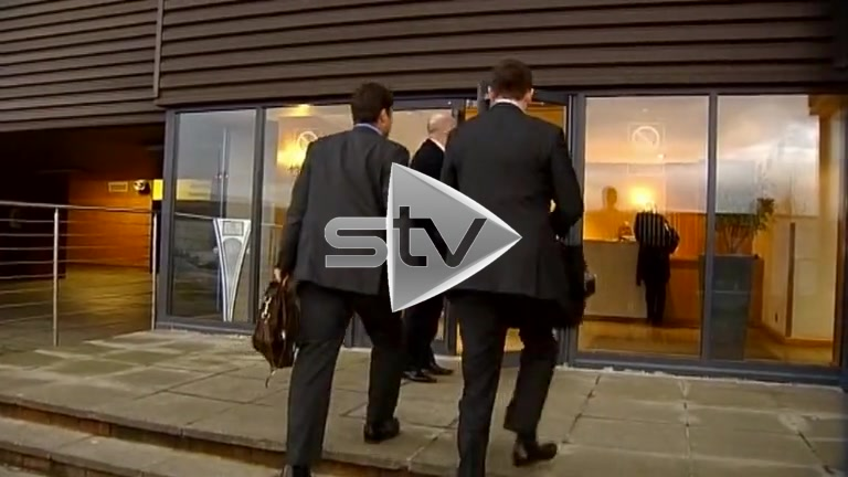 Rangers Administrators Arrive at Ibrox