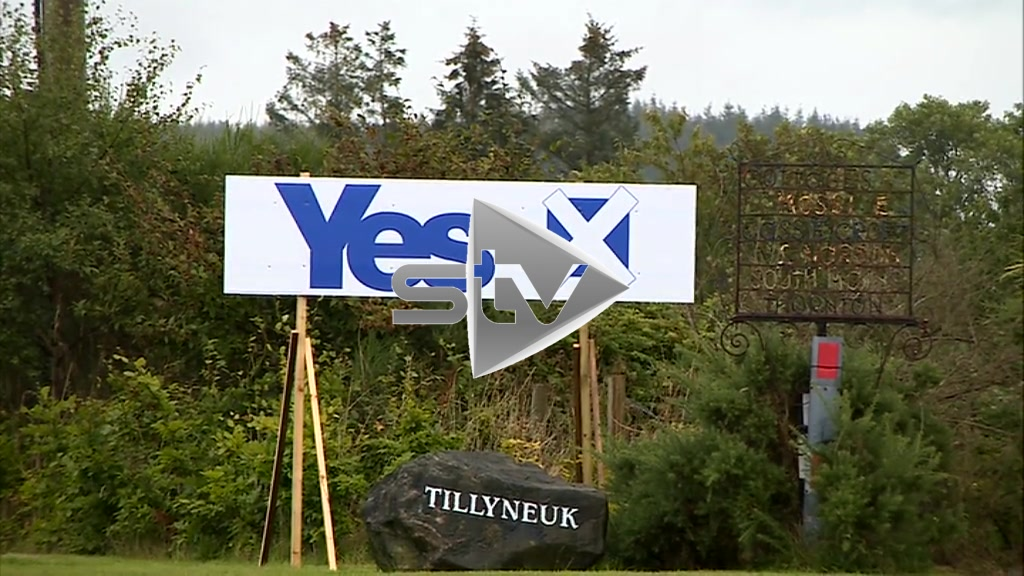 Independence Referendum – Campaign banners