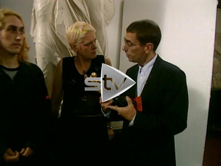 Ross Noble Wins The Herald's Angel Award