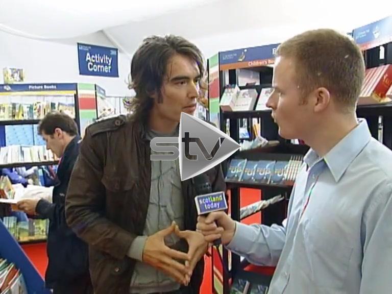 Russell Brand Edinburgh Book Festival 2004