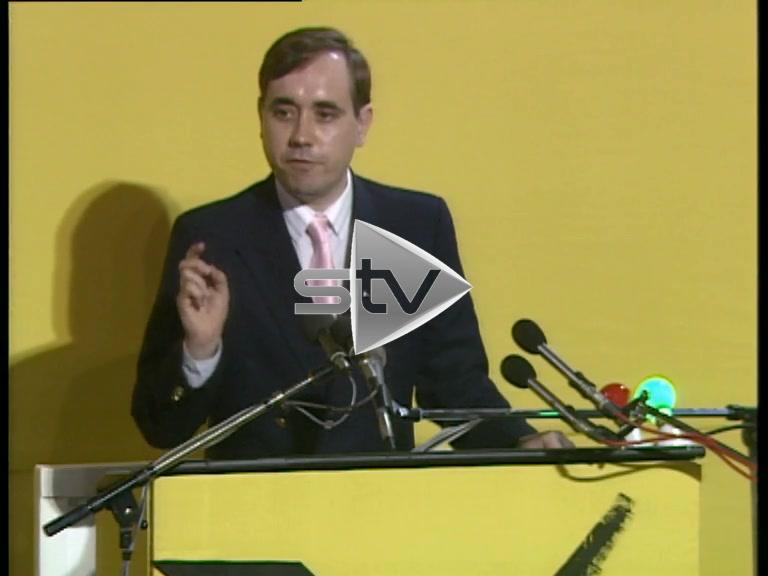 Early Speech by Alex Salmond
