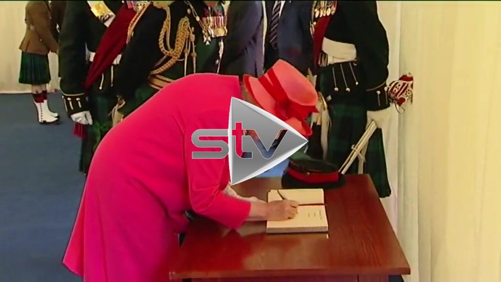 Royals Meet Royal Regiment of Scotland