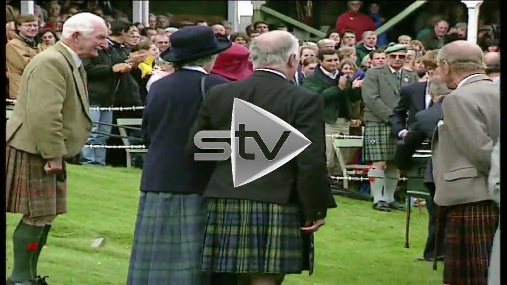Royal Family at Braemar Gathering 2000