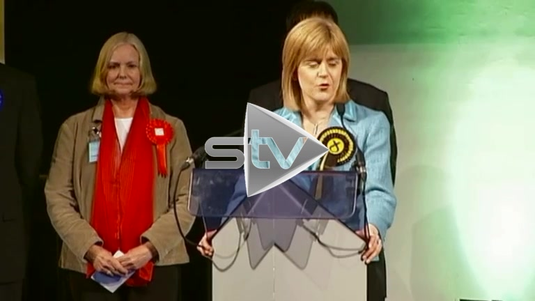Sturgeon Wins Govan Seat 2007