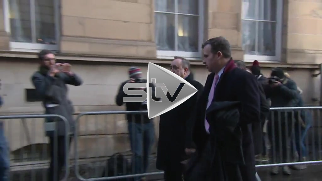 Salmond in Court