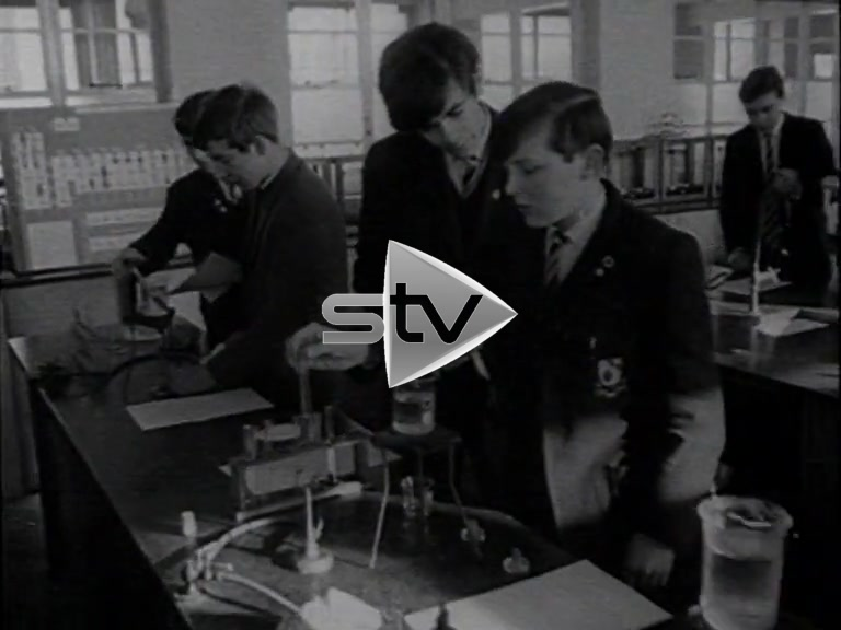 Sixties School Pupils
